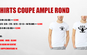 T-Shirt col rond coupe ample